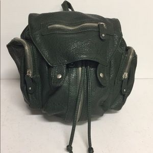 Free People Green Backpack Purse
